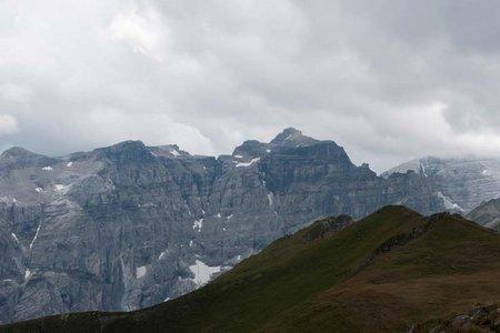 Rötenspitze (2481 m) von der Trunahütte
