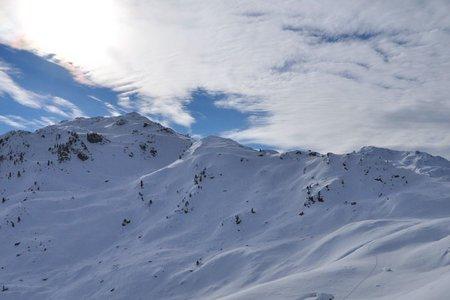 Regenfeldjoch (2258 m) aus dem Langen Grund