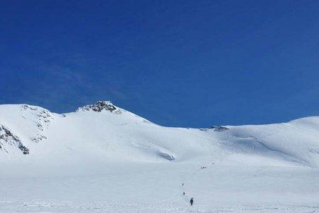 Monte Cevedale (3769 m) aus dem Martelltal