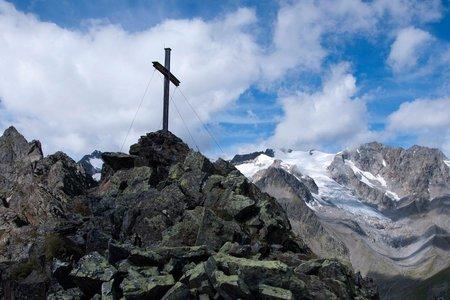 Vordere Sommerwand (2677 m) von der Oberiss Hütte