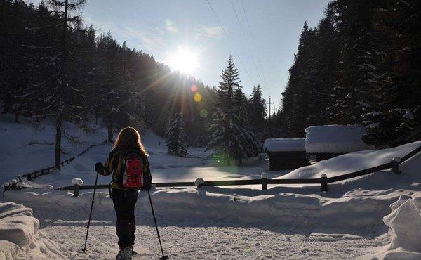 Seefeld/Leutasch - Schneeschuhwandern auf olympischen Pfaden