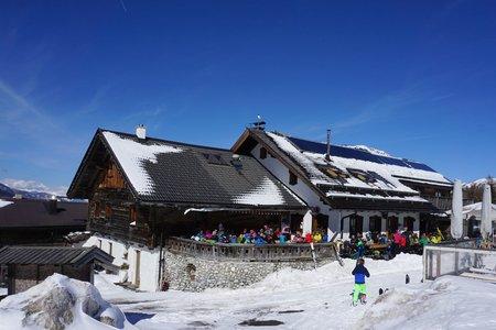 Sattelbergalm (1637m) von Gries am Brenner