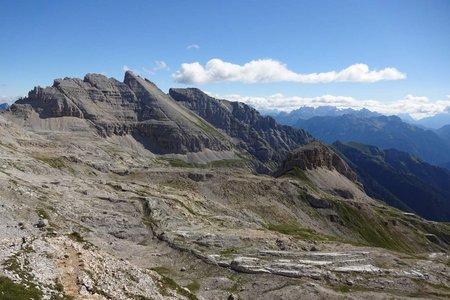 Latemarspitze (2791 m) von Obereggen