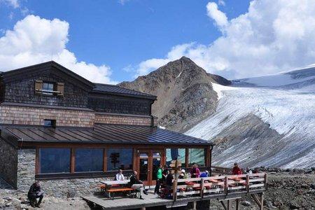Similaunhütte (3016 m) von Vent