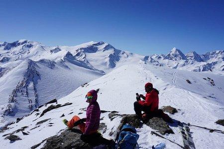 Hintere Schranspitze (3357 m) von der Zufallhütte