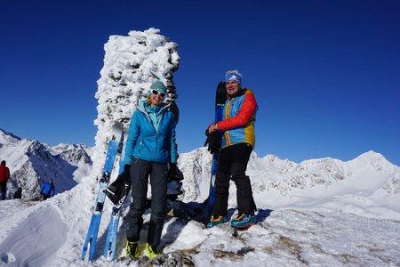Amjoch - Terner Jöchl (2405 m) über Pertinger Alm