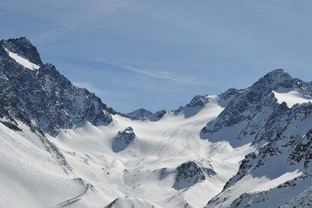 Längentaler Weißer Kogel (3217 m) von Lüsens