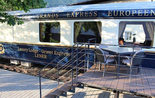 Terrasse beim Orient-Express