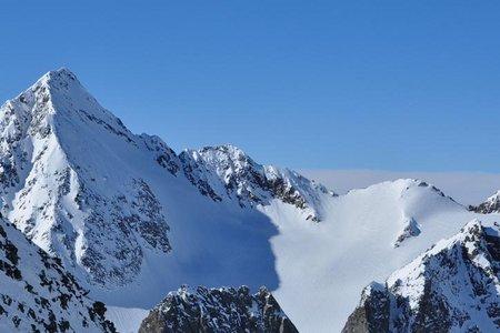 Schrankogel (3497 m) von der Franz Senn Hütte