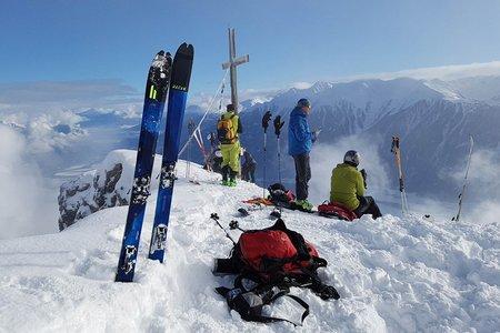 Wankspitze (2209 m) vom Gasthof Arzkasten