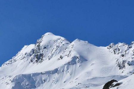 Sattelschröfen (2820 m) von Praxmar
