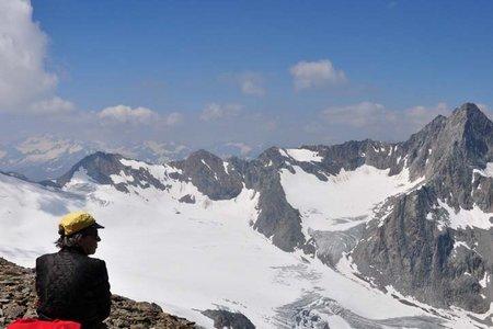 Hinterer Daunkopf (3225 m) von der Dresdner Hütte