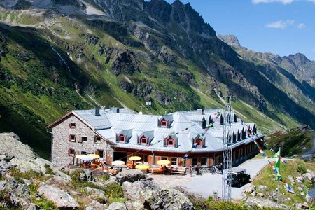 Jamtalhütte (2165 m) von Galtür