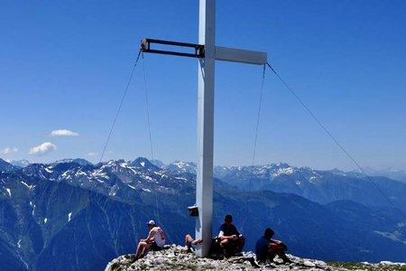 Hohe Munde (2662 m) von der Buchner Höhe