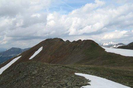 Plankenhorn-Getrumspitze (2575/2589 m) von Reinswald