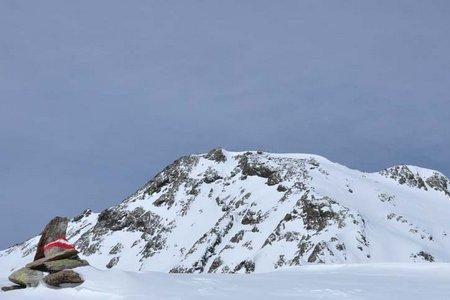 Haidenspitze (2975 m) von der Pforzheimer Hütte