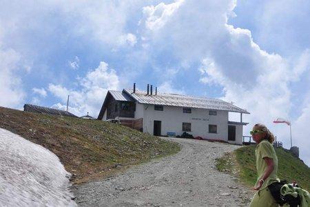 Kuhleitenhütte (2362 m) vom Pfiffinger Köpfl