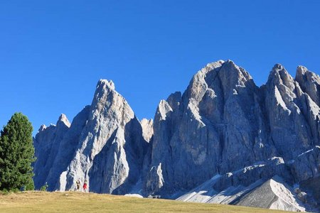 Sass Rigais (3025 m) aus dem Villnösstal