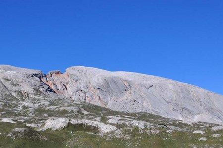 Seekofel (2810m) vom Berggasthof Pederü