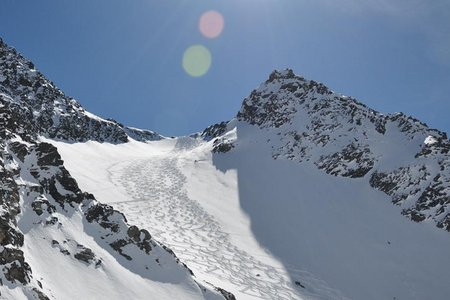 Westlicher Seeblaskogel (3048 m) vom Westfalenhaus
