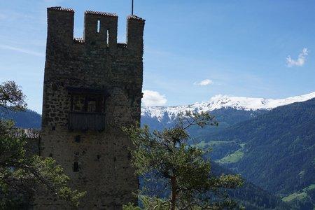 Ruine Schrofenstein (1122m) von Perjen