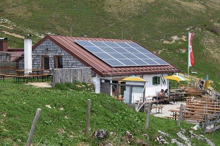Altkaseralm von Erl über die Schwarzrieshütte