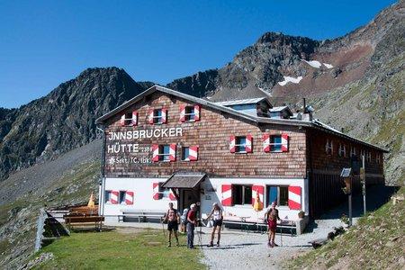 Bremer Hütte – Pramarnspitze – Innsbrucker Hütte