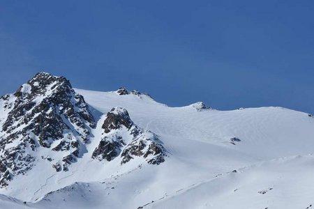 Hauslabkogel (3402 m) von der Similaunhütte