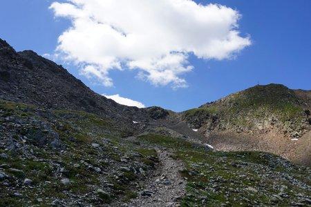 Rote Wand (2818m) vom Staller Sattel