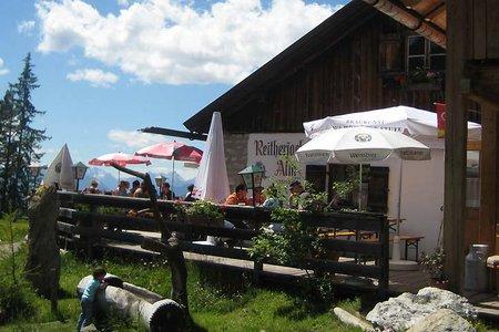 Oberpettnau - Reitherjoch Alm