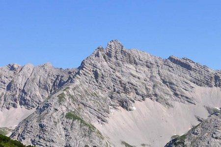 Kaskarspitze (2580 m) von der Pfeishütte