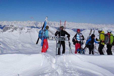 Lavarella (3055 m) von der Lavarellahütte