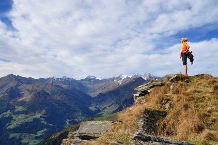 Kleine Kreuzspitze (2518m) vom Jaufenpass