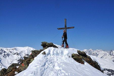 Schaflegerkogel (2405 m) vom Alpengasthof Fotscher Bergheim