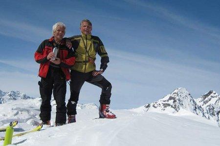 Kauschkahorn (2891 m) von der Jägerstube