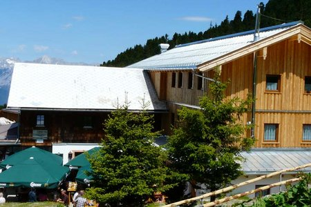 Weidener Hütte (1799 m) von Innerst