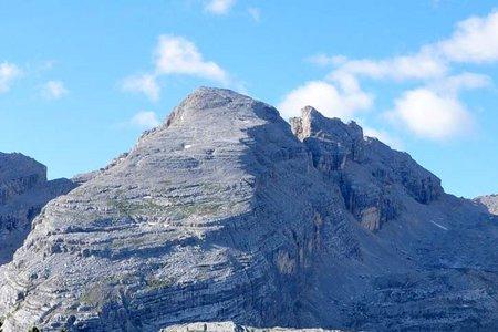 Furcia Rossa III-Monte Castello (2791/2760 m) von der Faneshütte