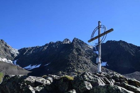 Ernst-Riml-Spitz (2507 m) von Gries