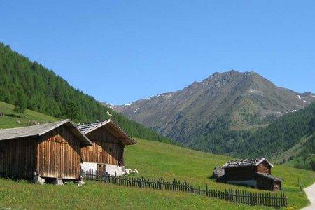 Meransen - Schutzhütte Wieserhütte