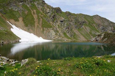 Falkamsee (2700m) von der Volkzeiner Hütte