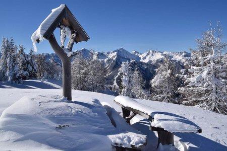 Altes Karl (2031 m) und Lisn Scharte von Spinges