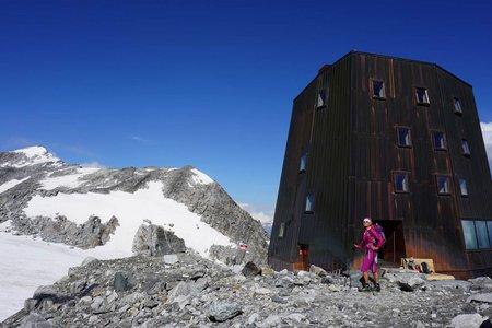 Schwarzensteinhütte (3026m) durch das Rotbachtal mit Abstieg Kegelgassl