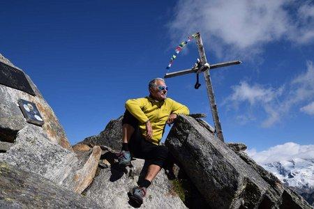 Klockerkarkopf (2912 m) von Kasern über Birnlücken-Hütte