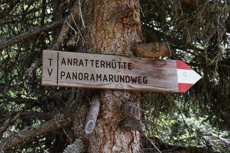 Stoanamandl-Anratterhütte Panoramarundweg