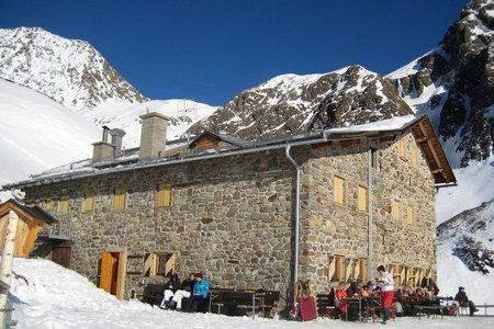 Amberger Hütte (2135 m) von Gries/Sulztal