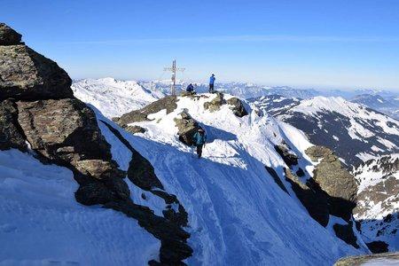 Pallspitze (2389 m) aus dem Langen Grund