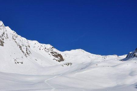 Schartenkogel (2855 m) von Niederthai