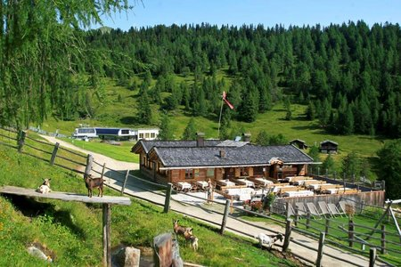 Anratterhütte, 1850 m - Spingeser Alm