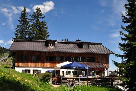 Gufferthütte vom Parkplatz Köglboden