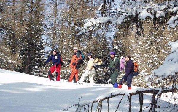 Schneeschuhwandern bei Maria Waldrast